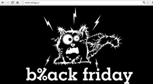 emag  Black Friday 2012. Site-urile magazinelor online au picat si de data asta in vinerea neagra