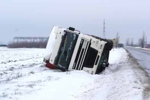 DSC00165 1024x685  [GALERIE FOTO] Maşini răsturnate la ieşire din Tecuci