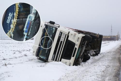 DSC00169 1024x685  [GALERIE FOTO] Maşini răsturnate la ieşire din Tecuci