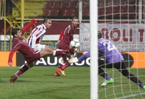 hattrick pena  Golgheter regăsit la Oţelul! Primul hattrick din carieră în Liga I