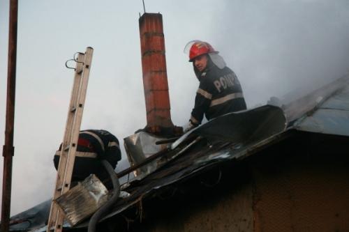 incendii tecuci  Incendii în Tecuci şi Galaţi la sfârşit de săptămână