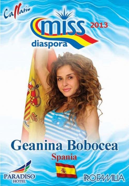 miss diaspora tecuci  Frumuseţe la malul mării: O tecuceancă reprezintă Spania la Miss Diaspora