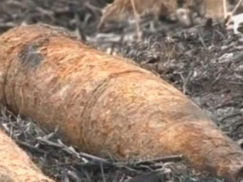 proiectil liesti  Proiectil explozibil găsit într-o curte din Lieşti