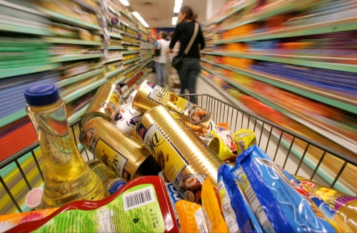 furt supermarket  Infracţiuni constatate de jandarmii Tecuceni