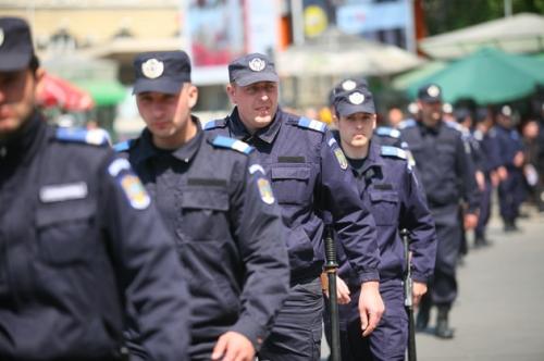 jandarmi  Tentativă de furt calificat la Galați