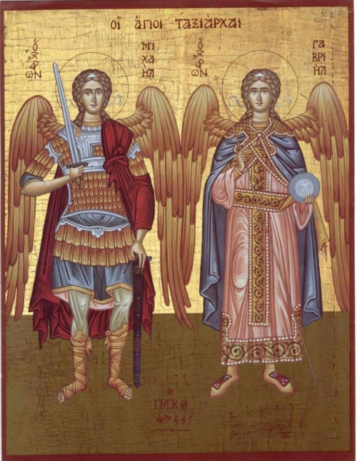sfantul mihail si gavriil 792x1024  Sfinţii Arhangheli Mihail şi Gavriil: Peste 47.000 de gălăţeni, în sărbătoare