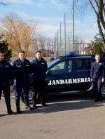 Viitorii ofiţeri jandarmi, în practică la Jandarmeria Galaţi